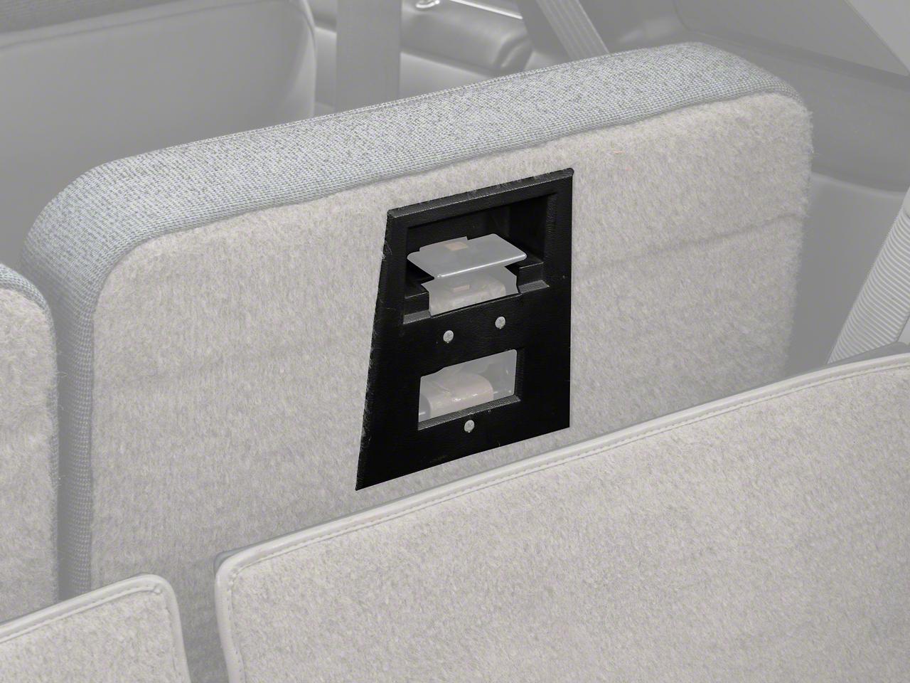 Hatchback Rear Seat Latch Bezel (84-93 All)