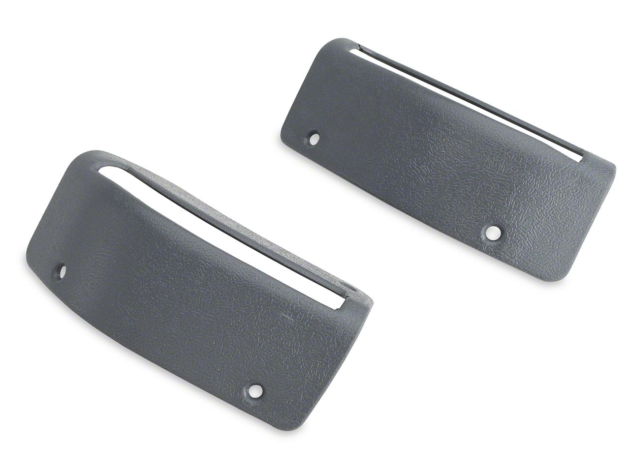 Convertible Seat Belt Bezels - Pair (85-89 All)