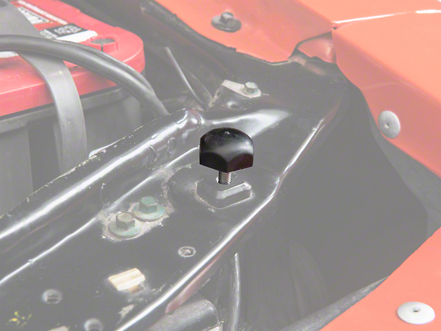 Adjustable Rubber Hood Bumper (89-04 All)