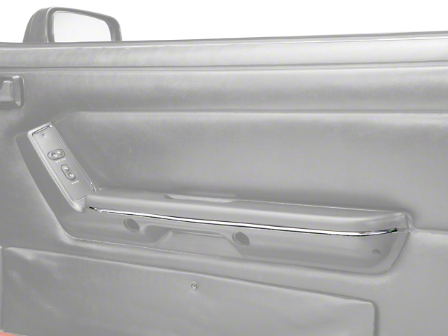 OPR Chrome Arm Rest Accent Trim - Pair (87-93 All)