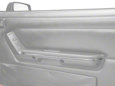 Chrome Arm Rest Accent Trim - Pair (87-93 All)
