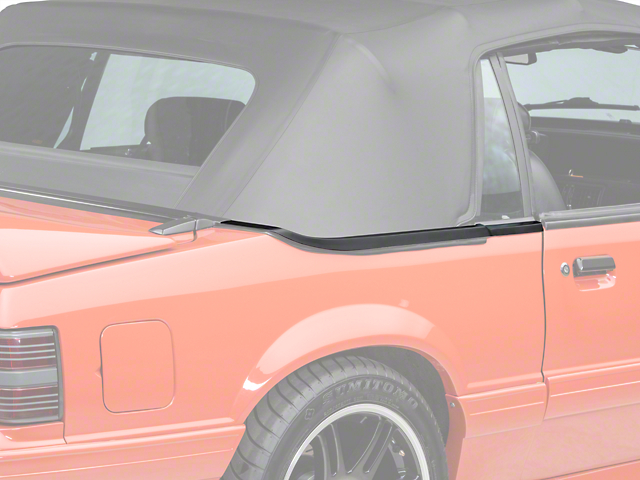 OPR Convertible Top Boot Well Molding - Right Side (83-86)