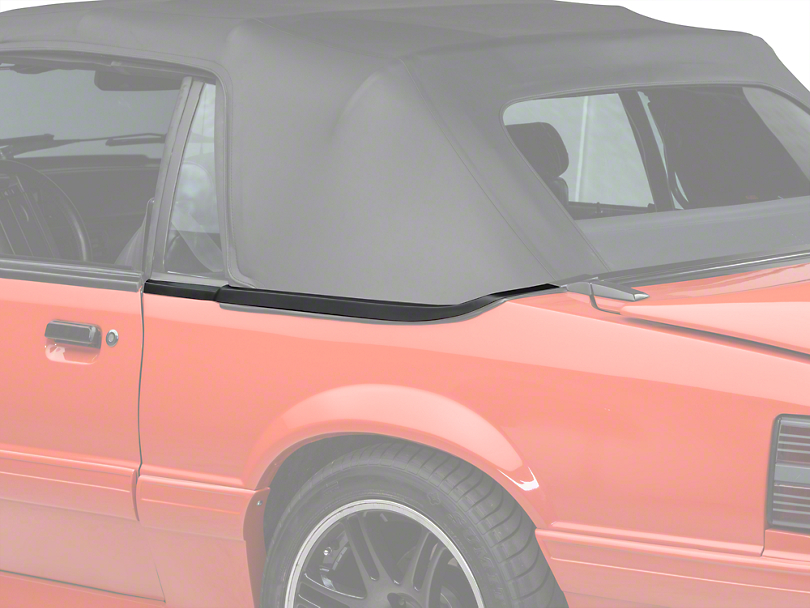 Convertible Top Boot Well Molding - Left Side (83-86)