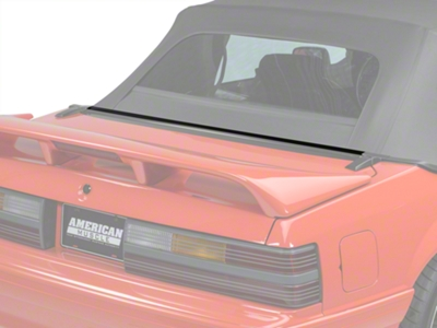 Rear Center Well Molding Weatherstripping - Convertible (87-93 All)