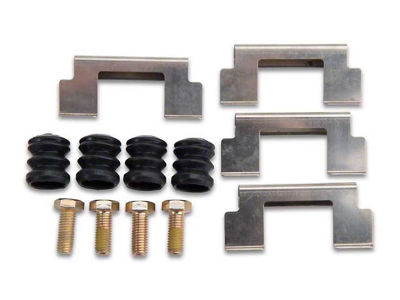 Rear Disc Brake Hardware Kit (93 Cobra)