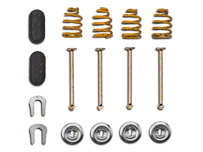 Rear Brake Shoe Hold Down Kit (80-93, excl Cobra)