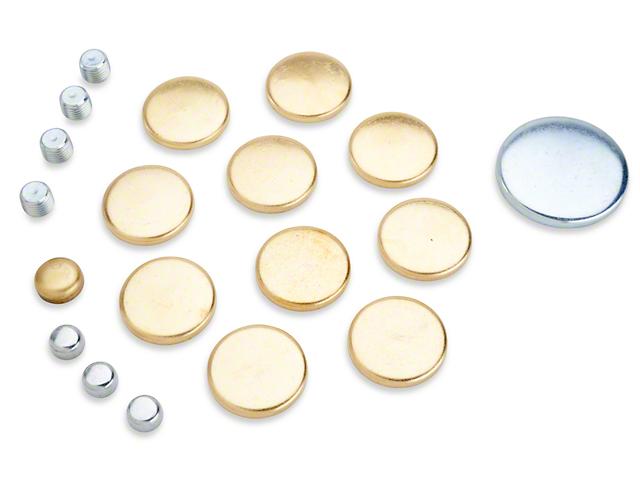 Freeze Plug Kit - Brass (79-95 5.0L)