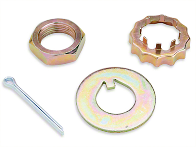 Spindle Lock Nut Kit (79-93)