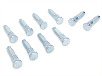 Front Wheel Stud - 0.589 in. Knurl (87-93 All)