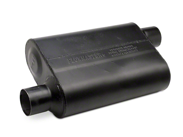 Flowmaster Super Flow 44 Series Offset Muffler - 2.5 in. (79-04 All, Excludes 99-04 Cobra)