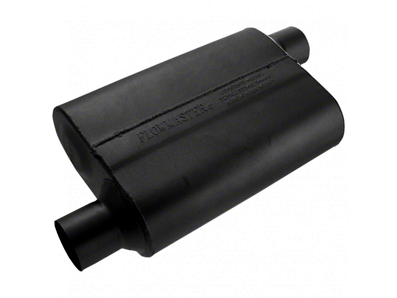 Flowmaster Original 40 Series Offset Muffler - 2.5 in. (79-04 All, Excludes 99-04 Cobra)