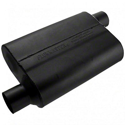 Flowmaster Original 40 Series Offset Muffler - 2.5in (79-04 All, Excludes 99-04 Cobra)