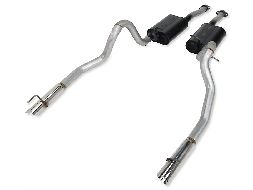 Flowmaster American Thunder Cat-Back Exhaust (99-04 GT, Mach 1)
