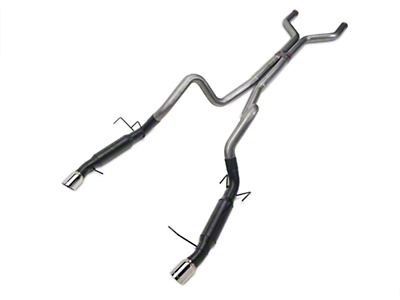 Flowmaster Outlaw Catback Exhaust - Stainless Steel (11-12 GT, GT500)