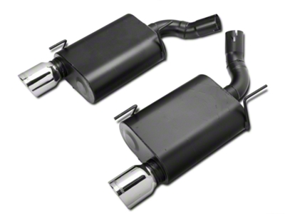 Flowmaster American Thunder Axle-Back Exhaust - Stainless Steel (05-10 GT, GT500)