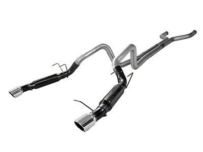 Flowmaster Outlaw Catback Exhaust w/ X-Pipe - Stainless Steel (13-14 GT)