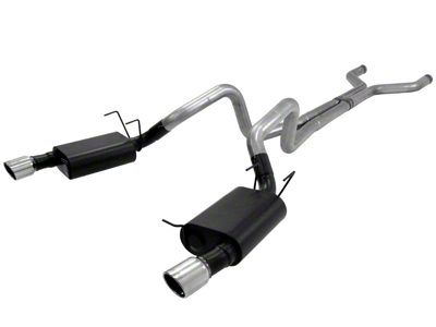 Flowmaster American Thunder Catback Exhaust w/ X-Pipe (13-14 GT)