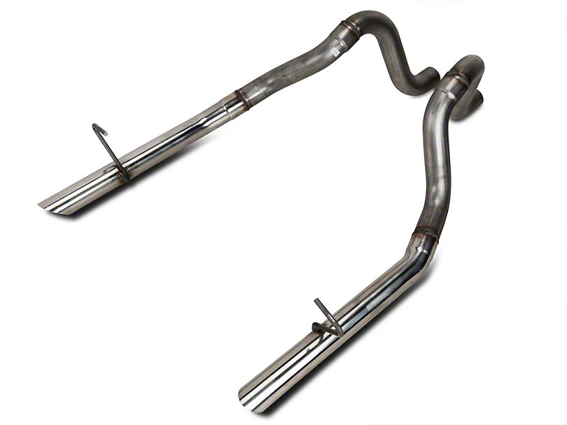 Flowmaster 2.5 in. Stainless Tailpipes (87-93 LX; 86 GT)