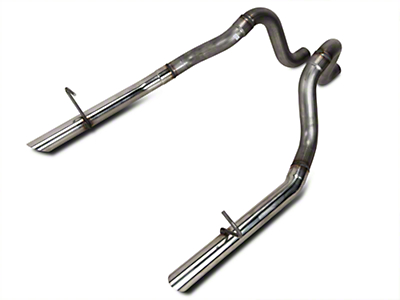 Flowmaster 2.5in Stainless Tailpipes (87-93 LX; 86 GT)