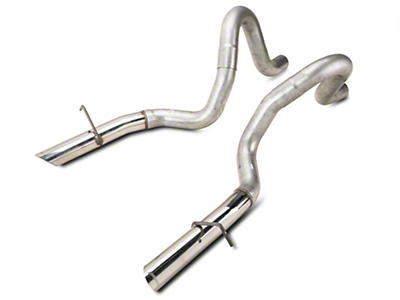 Flowmaster 3in Tailpipes w/ Stainless Tips (87-93 LX; 86 GT)
