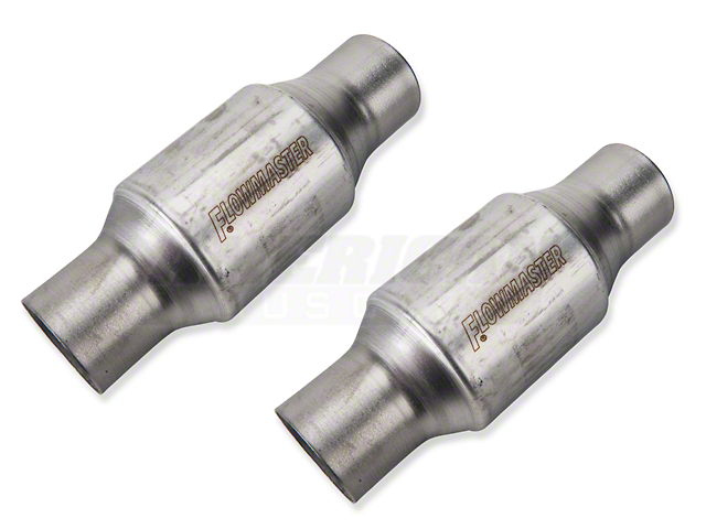 Flowmaster High Flow Mini-Catalytic Converters - Pair (86-10 All)