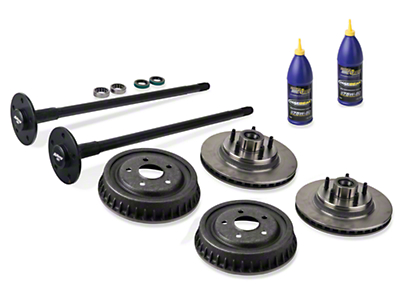 Alloy USA Complete 5-Lug Conversion Kit - 28 Spline (87-93 5.0L)