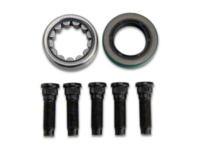 Alloy USA Rear Axle Bearing, Seal & Stud Kit - 8.8 in. (86-04; Excludes IRS)
