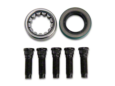 Alloy USA Rear Axle Bearing, Seal & Stud Kit - 8.8in (86-04; Excludes IRS)