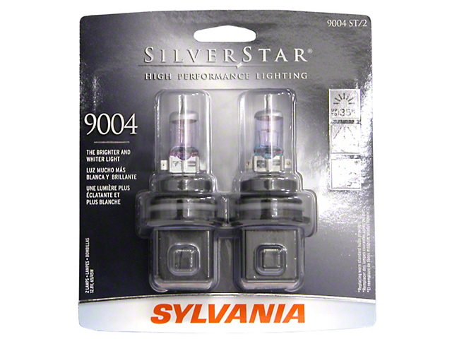 Sylvania Silverstar Light Bulbs - 9004