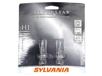 Sylvania Silverstar Light Bulbs - H1