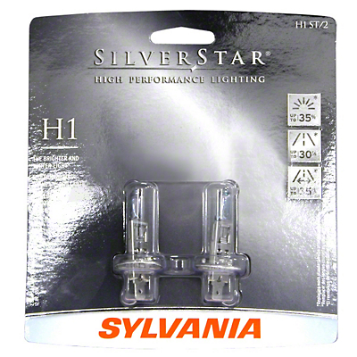 Sylvania Silverstar Light Bulbs - H1
