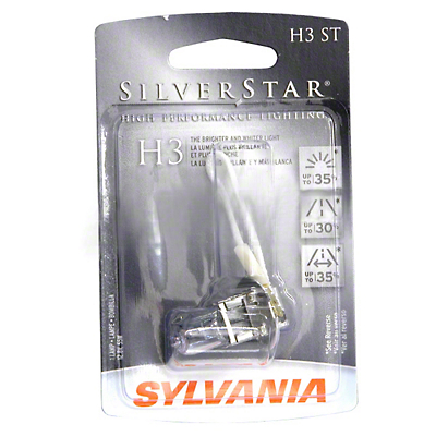 Sylvania Silverstar Light Bulbs - H3