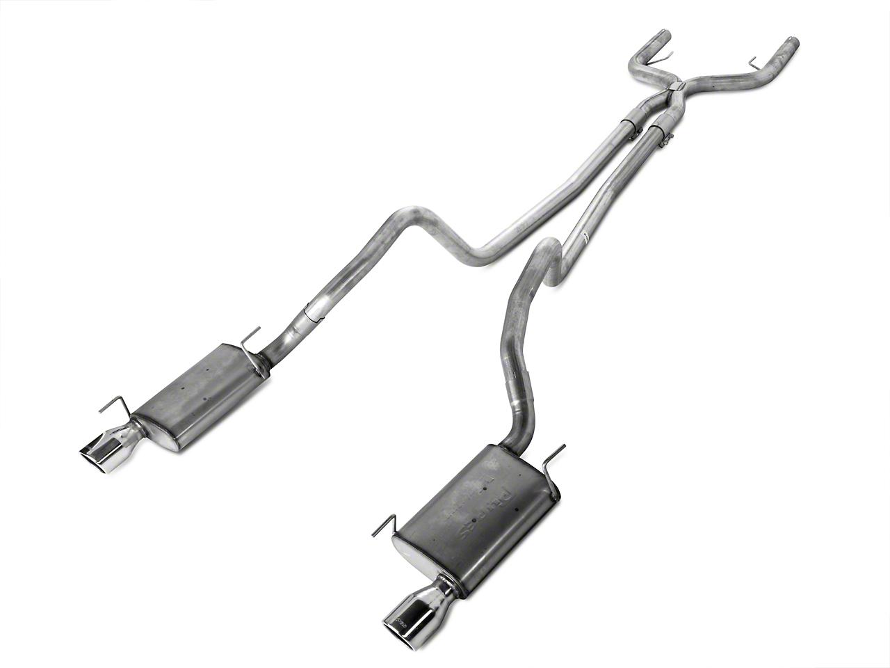 Pypes True Dual Exhaust (05-10 V6)