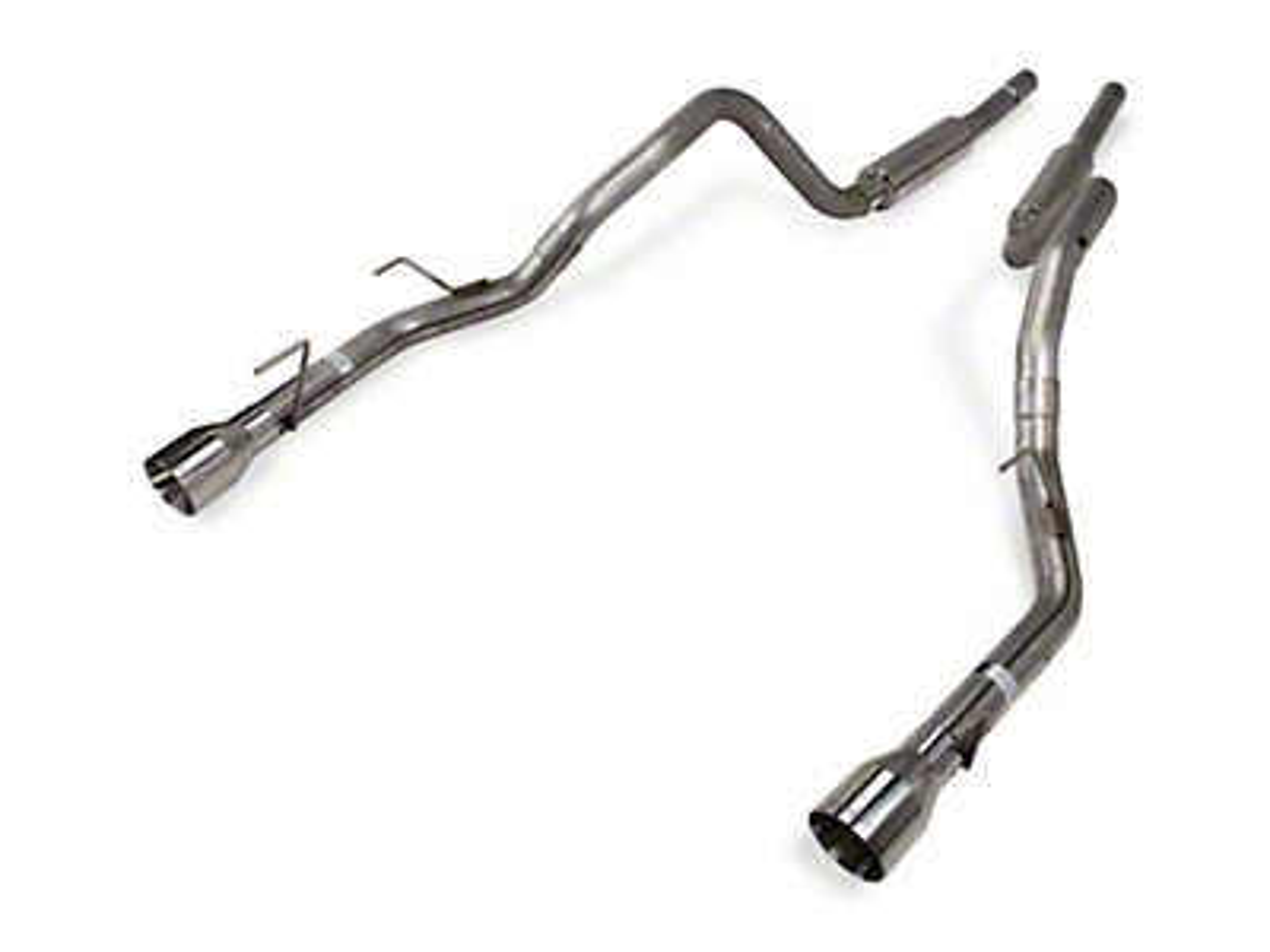 Pypes Mid-Muffler Catback Exhaust (05-10 GT)