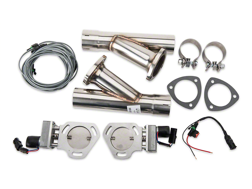Pypes Electric Exhaust Cutout Kit - 2.5 in. (79-14 All)