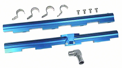Professional Products Powerflow Aluminum Fuel Rails (96-98 GT)
