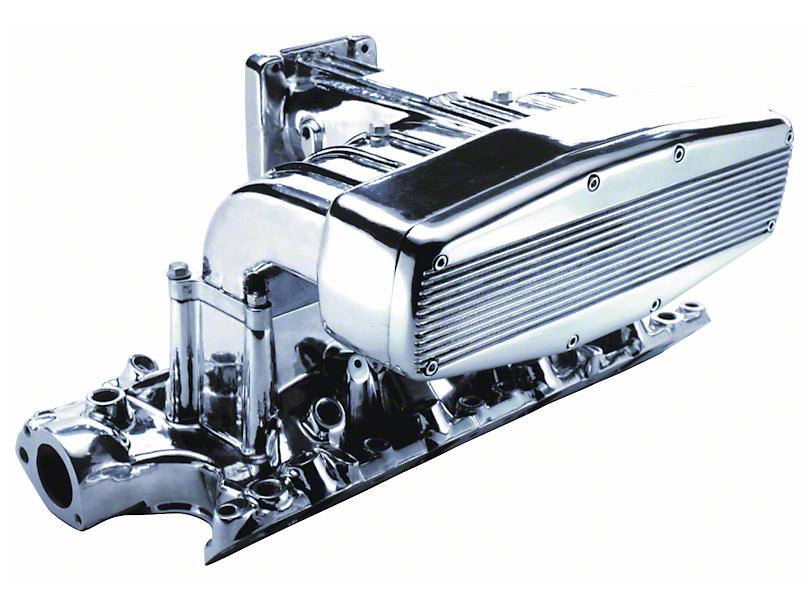 Professional Products Polished Typhoon Intake Manifold (86-95 5.0L)