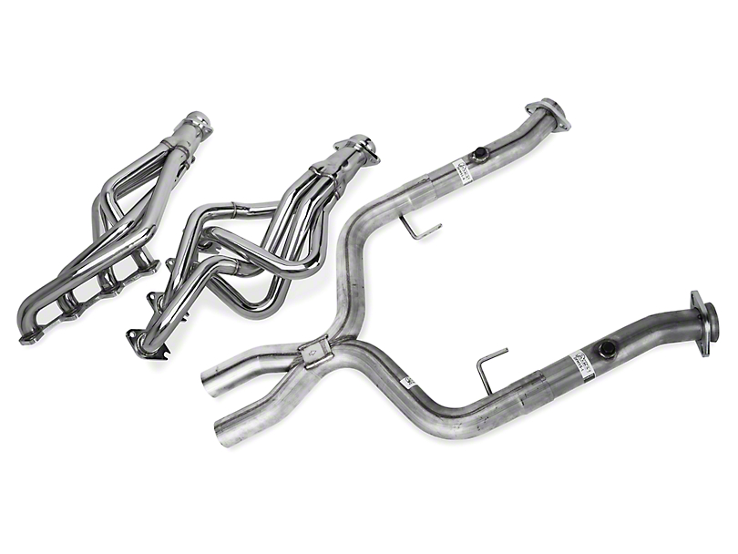 Pypes Long Tube Headers w/ Shorty X-pipe (05-10 GT)