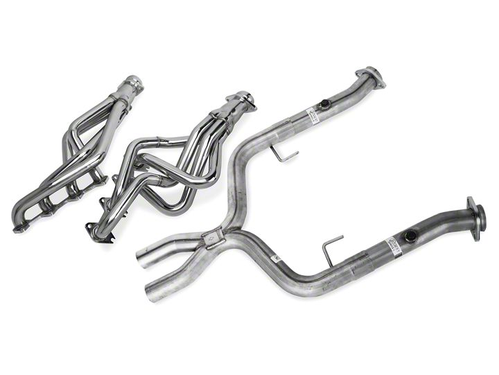 Pypes Long Tube Headers w/ Shorty X-pipe ('05-'10 GT