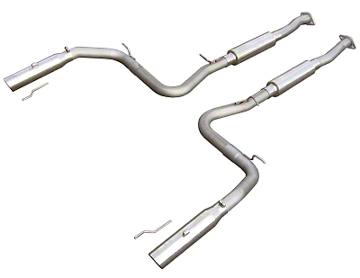 Pypes Violator Catback Exhaust (99-04 Cobra)