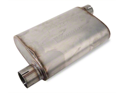 Pypes Violator Offset Muffler (79-04 All, Excludes 99-04 Cobra)