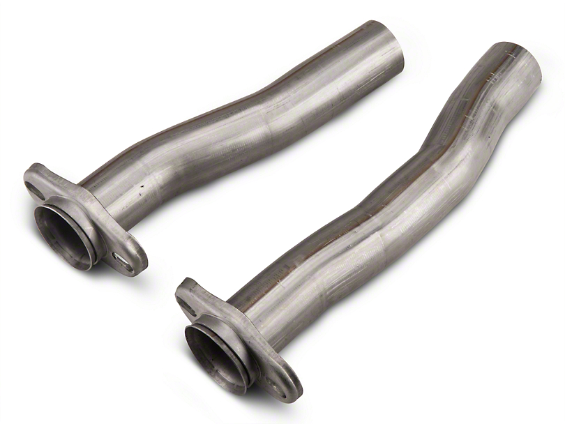 Pypes 2.5 in. Stainless Steel Replacement Flow Tube Kit (79-04 V8, V6; 94-99 Cobra)