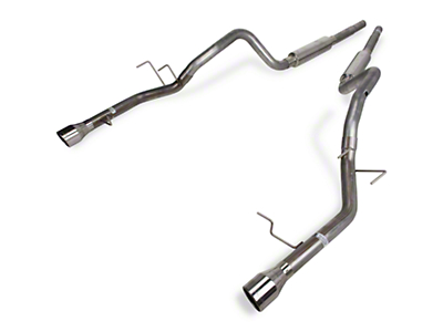 Pypes Mid Muffler Cat-Back Exhaust (11-14 V6)