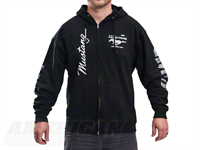 The Legend Lives Zip-Up Hoodie - Black