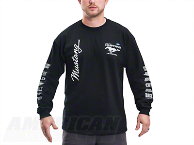 The Legend Lives Long Sleeve Tee - Black