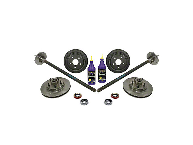 Superior Axle and Gear Complete 5-Lug Conversion Kit - 28 Spline (87-93 5.0L)