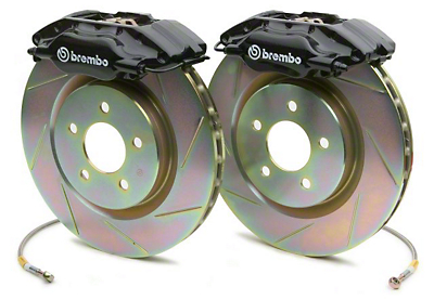 Ford Racing 2000 Cobra R Front Big Brake Kit - Slotted Rotors (94-04)