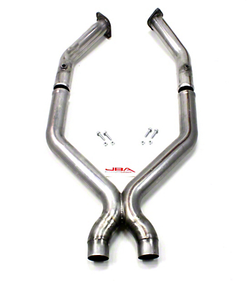 JBA Modular X-Pipe - 3 in. to 2.75 in. (11-14 GT)