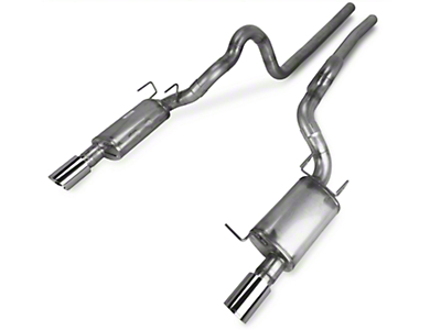 JBA 3in Power Pack Off-Road Full Exhaust System - Natural (11-14 GT)