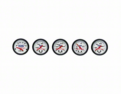 Ford Racing 2 - 1/16 in. Competition Gauges - Fuel Pressure